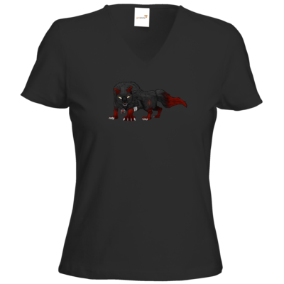 Motiv: T-Shirt Damen V-Neck Classic - Kraxell - Kraxellus