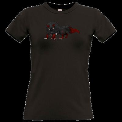 Motiv: T-Shirt Damen Premium FAIR WEAR - Kraxell - Kraxellus