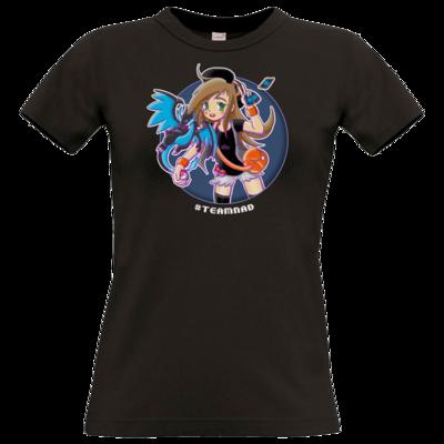 Motiv: T-Shirt Damen Premium FAIR WEAR - BroGamerView - TeamNad