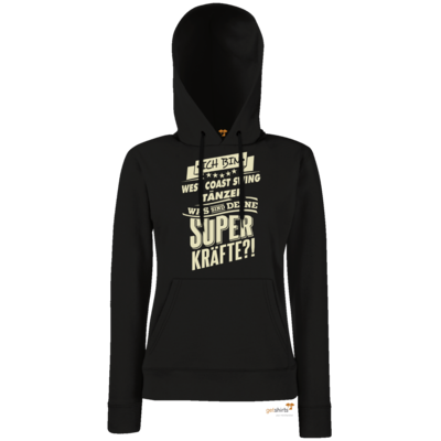 Motiv: Hoodie Damen Classic - Superkräfte - West Coast Swing tanzen