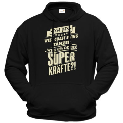 Motiv: Hoodie Premium FAIR WEAR - Superkräfte - West Coast Swing tanzen