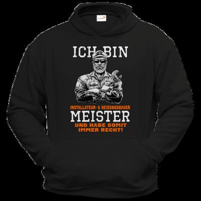 Motiv: Hoodie Classic - Ich bin Installateur  & Heizungsbauer Meister