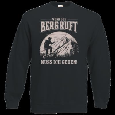 Motiv: Sweatshirt Classic - Sport - Wandern - Outdoor - Der Berg ruft - uni