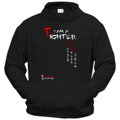 Motiv: Hoodie Classic - Kampfkunst Lifestyle - I am a Fighter