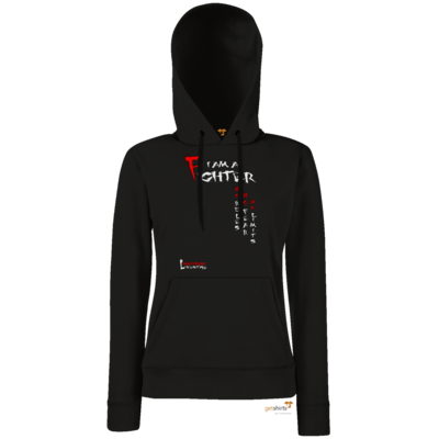 Motiv: Hoodie Damen Classic - Kampfkunst Lifestyle - I am a Fighter