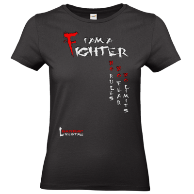 Motiv: T-Shirt Damen Premium FAIR WEAR - Kampfkunst Lifestyle - I am a Fighter