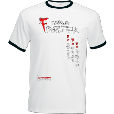 Motiv: T-Shirt Ringer - Kampfkunst Lifestyle - I am a Fighter