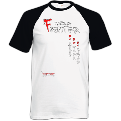 Motiv: TShirt Baseball - Kampfkunst Lifestyle - I am a Fighter