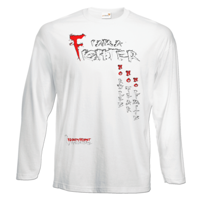 Motiv: Exact 190 Longsleeve FAIR WEAR - Kampfkunst Lifestyle - I am a Fighter