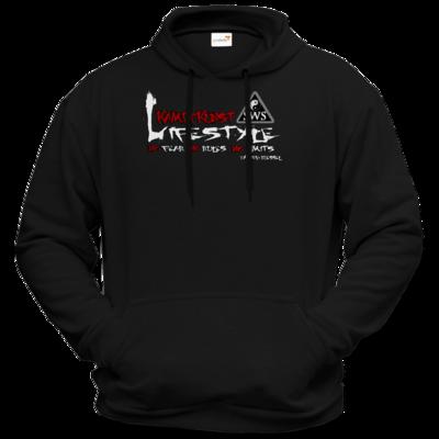 Motiv: Hoodie Premium FAIR WEAR - Kampfkunst Lifestyle - Logo 2