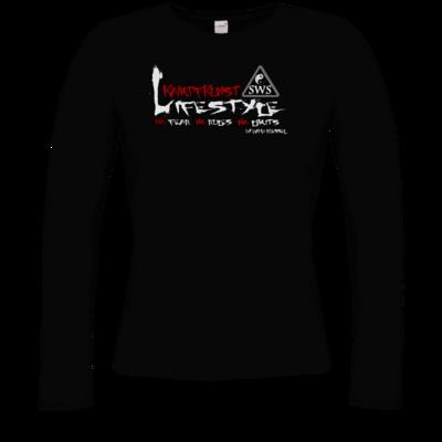 Motiv: Longsleeve Damen FAIR WEAR - Kampfkunst Lifestyle - Logo 2