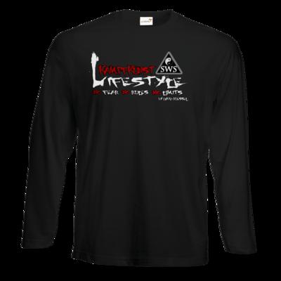 Motiv: Exact 190 Longsleeve FAIR WEAR - Kampfkunst Lifestyle - Logo 2