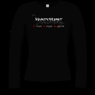Motiv: Longsleeve Damen FAIR WEAR - Kampfkunst Lifestyle - Logo 1