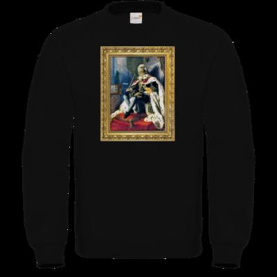 Motiv: Sweatshirt FAIR WEAR - Verflixxte Klixx - Geierkoenig