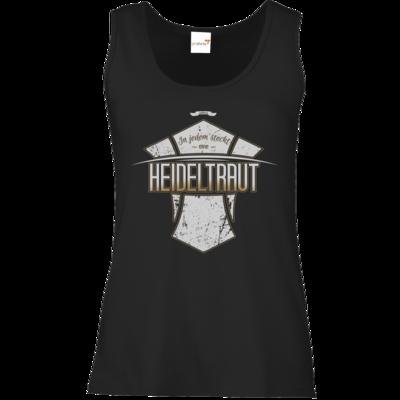 Motiv: Tank Top Damen Classic - Heidelwurst Merch - Heideltraut - Slogan