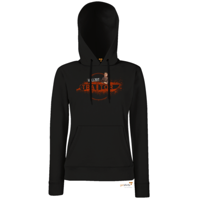 Motiv: Hoodie Damen Classic - Heidelwurst Merch - Curry - Vollzeit Traitor