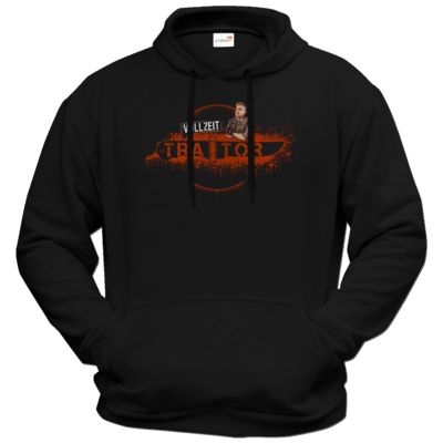 Motiv: Hoodie Premium FAIR WEAR - Heidelwurst Merch - Curry - Vollzeit Traitor