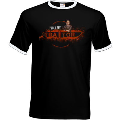 Motiv: T-Shirt Ringer - Heidelwurst Merch - Curry - Vollzeit Traitor