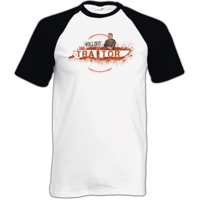 Motiv: TShirt Baseball - Heidelwurst Merch - Curry - Vollzeit Traitor