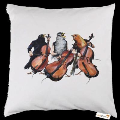 Motiv: Kissen - Vogelmenschen - Akopalützika