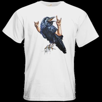 Motiv: T-Shirt Premium FAIR WEAR - Vogelmenschen - Wacköön