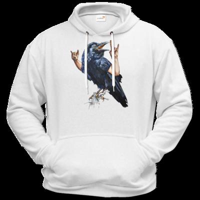 Motiv: Hoodie Premium FAIR WEAR - Vogelmenschen - Wacköön