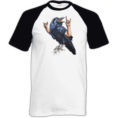 Motiv: TShirt Baseball - Vogelmenschen - Wacköön