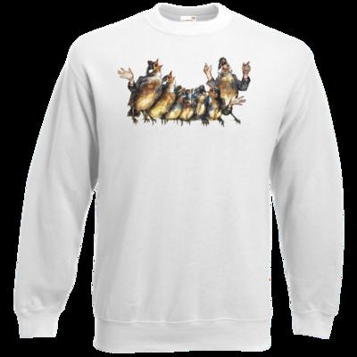 Motiv: Sweatshirt Classic - Vogelmenschen - Chor