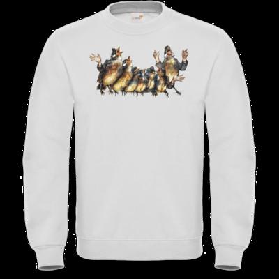 Motiv: Sweatshirt FAIR WEAR - Vogelmenschen - Chor