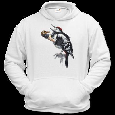 Motiv: Hoodie Classic - Vogelmenschen - Schluckspecht