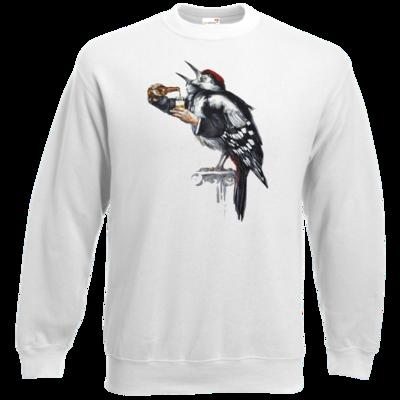 Motiv: Sweatshirt Classic - Vogelmenschen - Schluckspecht