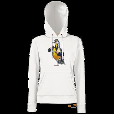 Motiv: Hoodie Damen Classic - Vogelmenschen - Schnapsdrossel