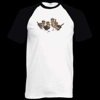 Motiv: TShirt Baseball - Vogelmenschen - Quatuor Coronati