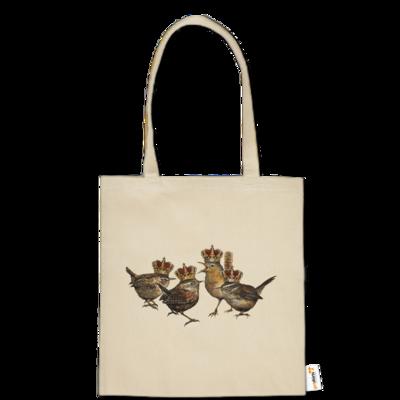Motiv: Baumwolltasche - Vogelmenschen - Quatuor Coronati