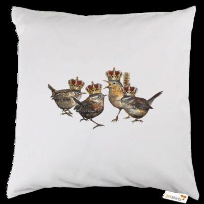 Motiv: Kissen - Vogelmenschen - Quatuor Coronati