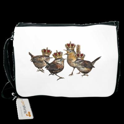 Motiv: Schultertasche - Vogelmenschen - Quatuor Coronati