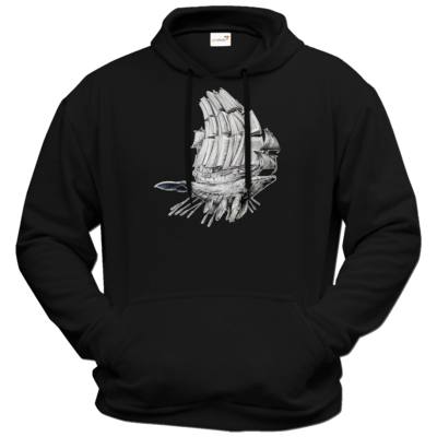 Motiv: Hoodie Premium FAIR WEAR - Sea Shepherd Support - Buchwal