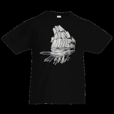 Motiv: Kids T-Shirt Premium FAIR WEAR - Sea Shepherd Support - Buchwal