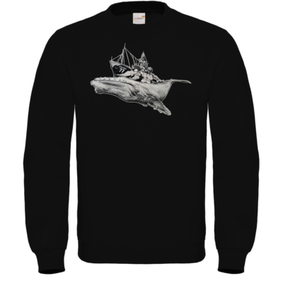 Motiv: Sweatshirt FAIR WEAR - Sea Shepherd Support - Steve Irwin