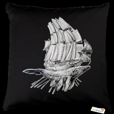 Motiv: Kissen Baumwolle - Sea Shepherd Support - Buchwal