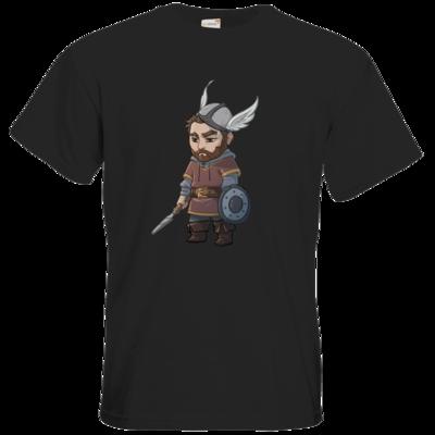 Motiv: T-Shirt Premium FAIR WEAR - Let's Plays - Nubor - Chibi