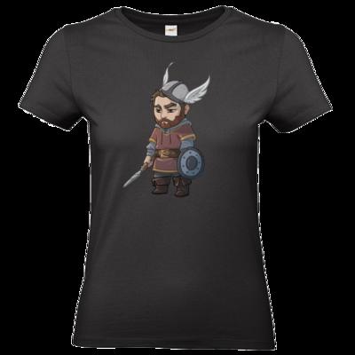 Motiv: T-Shirt Damen Premium FAIR WEAR - Let's Plays - Nubor - Chibi