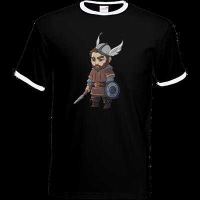 Motiv: T-Shirt Ringer - Let's Plays - Nubor - Chibi