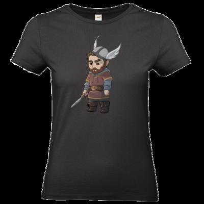 Motiv: T-Shirt Damen Premium FAIR WEAR - Let's Plays - Nubor der Schildlose - Chibi
