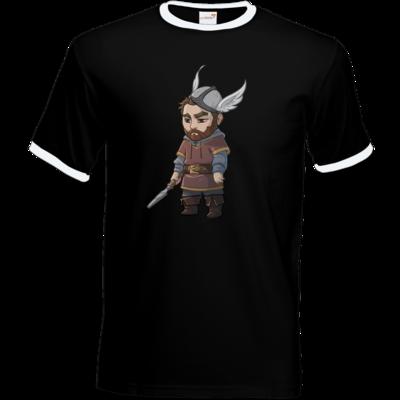 Motiv: T-Shirt Ringer - Let's Plays - Nubor der Schildlose - Chibi