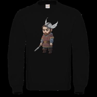 Motiv: Sweatshirt FAIR WEAR - Let's Plays - Nubor der Schildlose - Chibi