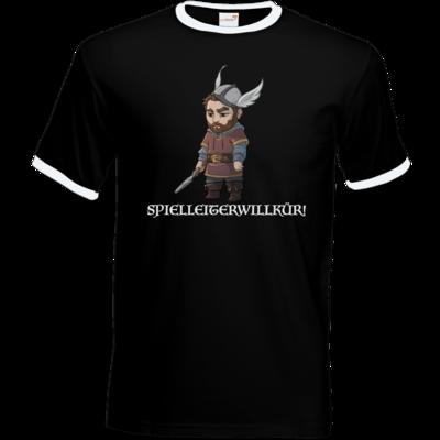 Motiv: T-Shirt Ringer - Let's Plays - Nubor Spielleiterwillkür - Chibi