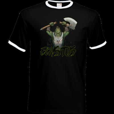 Motiv: T-Shirt Ringer - Let's Plays - Echsitus