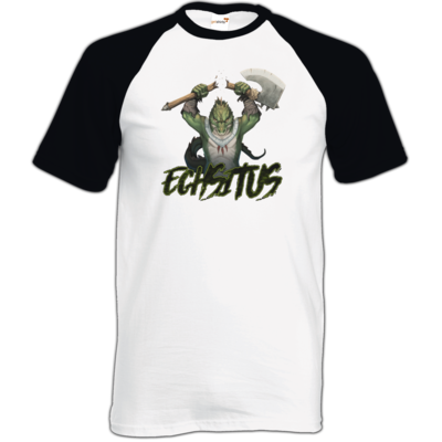 Motiv: TShirt Baseball - Let's Plays - Echsitus