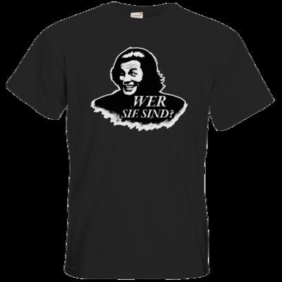 Motiv: T-Shirt Premium FAIR WEAR - Spiele mit Bart - Wer Sie sind
